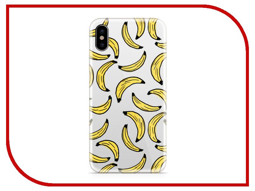 Аксессуар Чехол With Love. Moscow Silicone для Apple iPhone X Bananas 5018 чехол fifa 2018 moscow для iphone x
