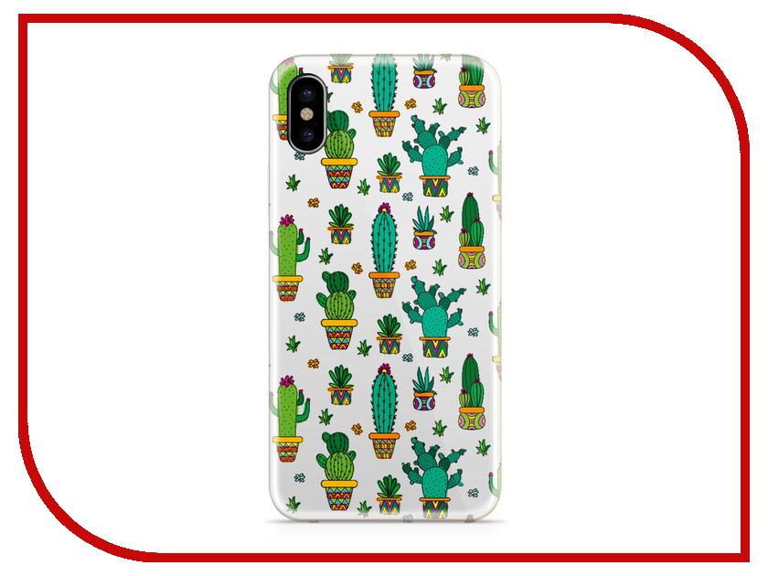 Аксессуар Чехол With Love. Moscow Silicone для Apple iPhone X Cactus 5028 чехол fifa 2018 moscow для iphone x