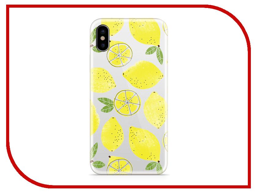 Аксессуар Чехол With Love. Moscow Silicone для Apple iPhone X Lemons 5037 чехол fifa 2018 moscow для iphone x