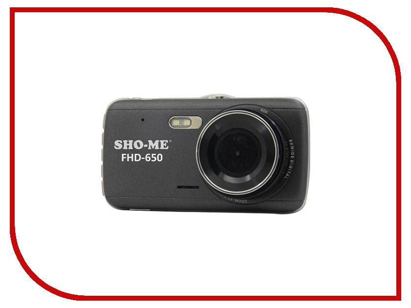 Видеорегистратор Sho-Me FHD-650 видеорегистратор sho me hd45 lcd