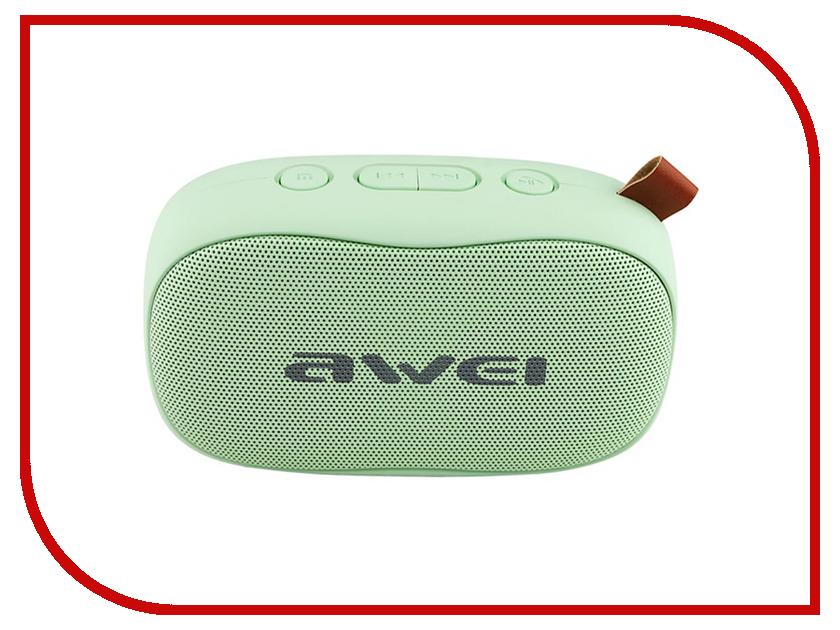 Колонка Awei Y900 Green колонка awei y900 pink