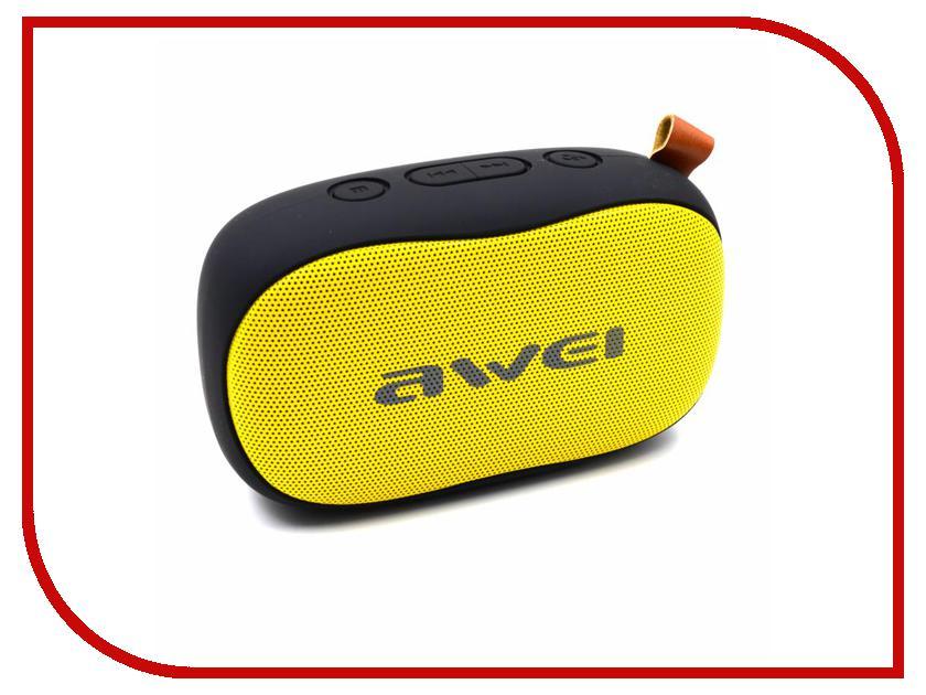 Колонка Awei Y900 Black-Yellow колонка awei y900 pink