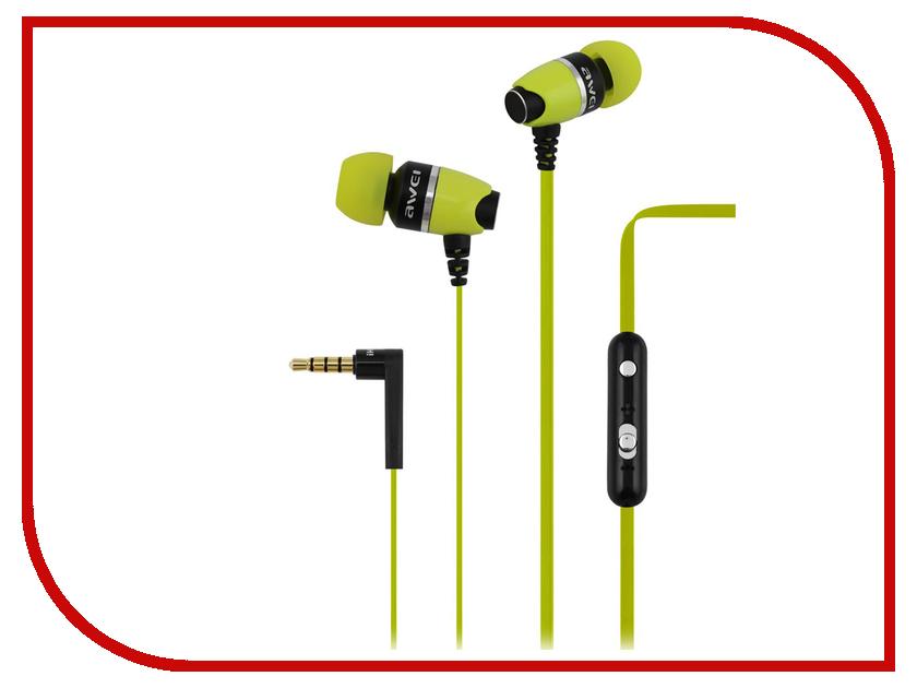 все цены на Awei ES-88Hi Green онлайн