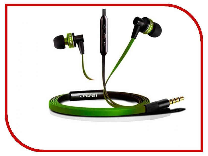 все цены на Awei ES-90Vi Green онлайн