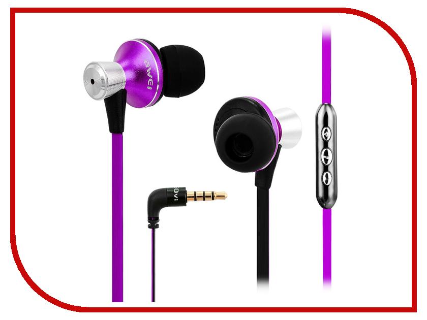 Гарнитура Awei TE850Vi Purple цена и фото
