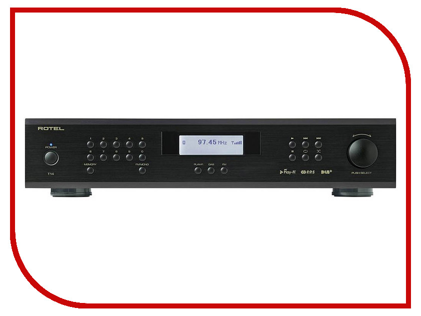 Тюнер Rotel T14 Black rotel a14