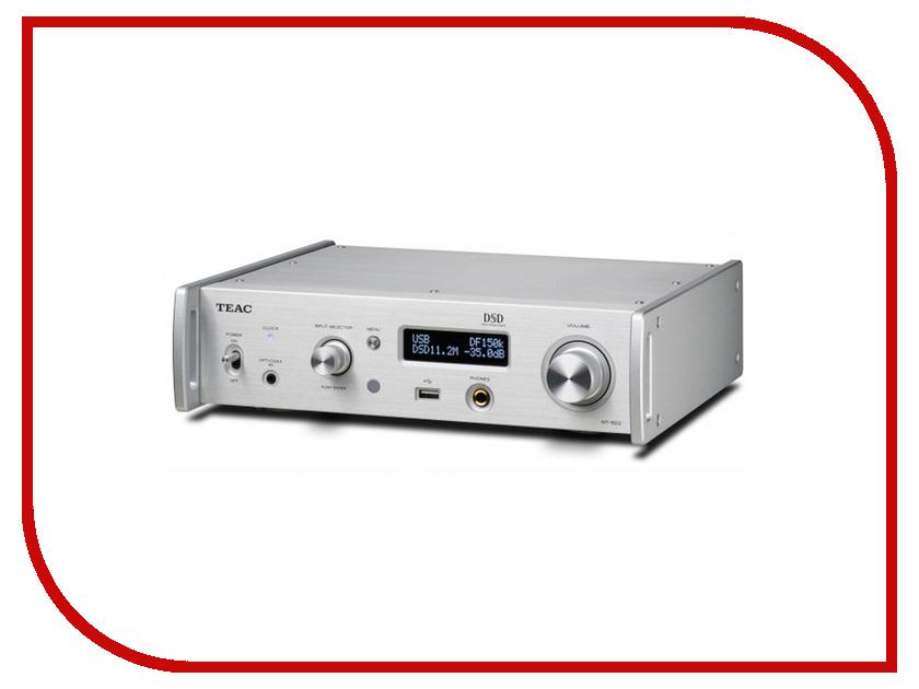 Сетевой аудио проигрыватель Teac NT-503 Silver сетевой аудио проигрыватель marantz na8005 black