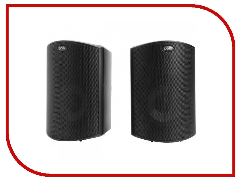Колонки Polk Audio Atrium 4 Black всепогодная акустика polk audio atrium sat 30 brown уценённый товар