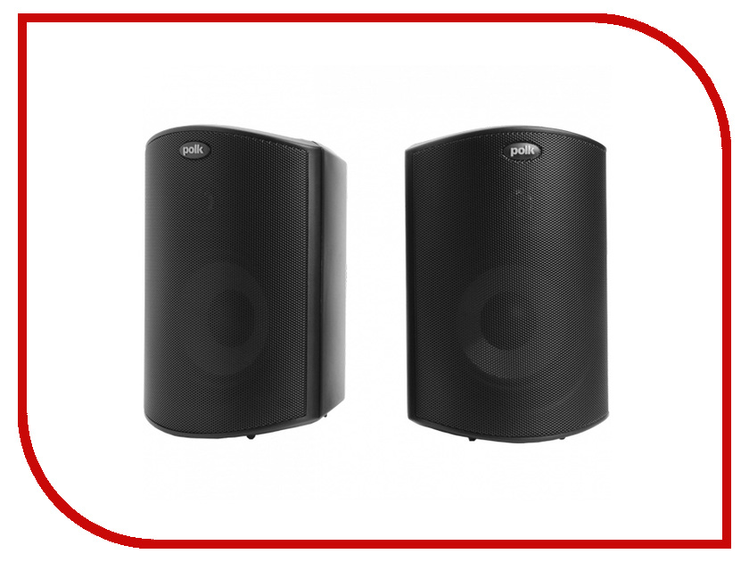 Колонки Polk Audio Atrium 4 Black коаксиальная автоакустика polk audio db 652