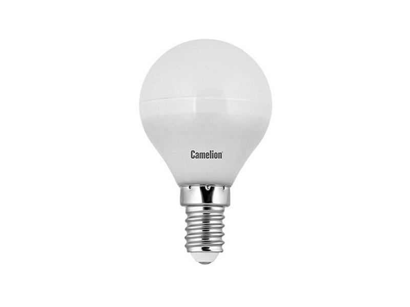 Лампочка Camelion E14 G45 5W 220V 4500K 505Lm LED5-G45/845/E14