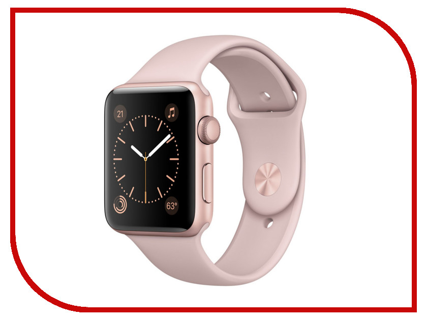 Аксессуар Браслет Apres APPLE Watch 42mm M/L Pink Sand аксессуар браслет apple watch 42mm apres s m pink sand