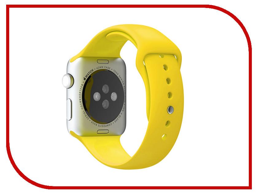 Аксессуар Браслет Apres APPLE Watch 42mm S/M Yellow аксессуар браслет apple watch 42mm apres s m pink sand