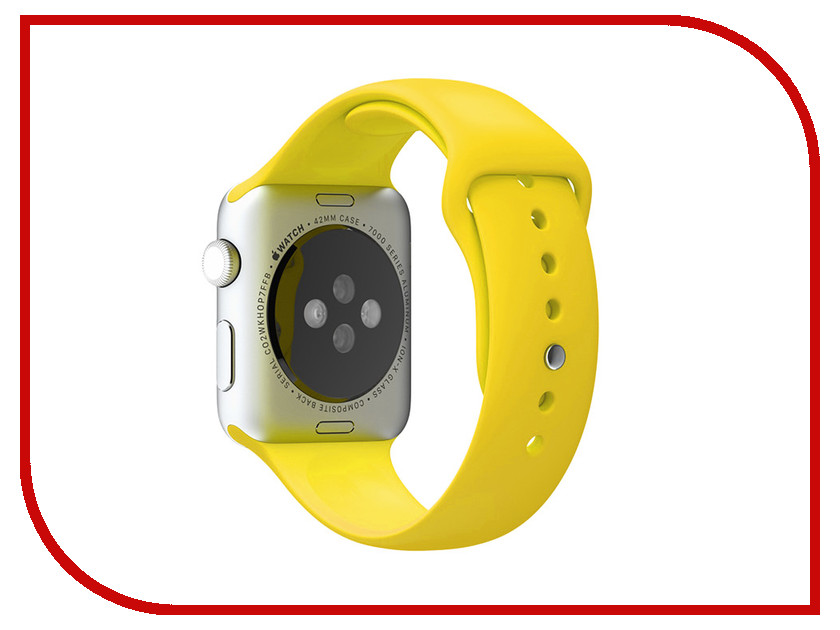 Аксессуар Браслет Apres APPLE Watch 42mm M/L Yellow аксессуар браслет apple watch 42mm apres s m pink sand