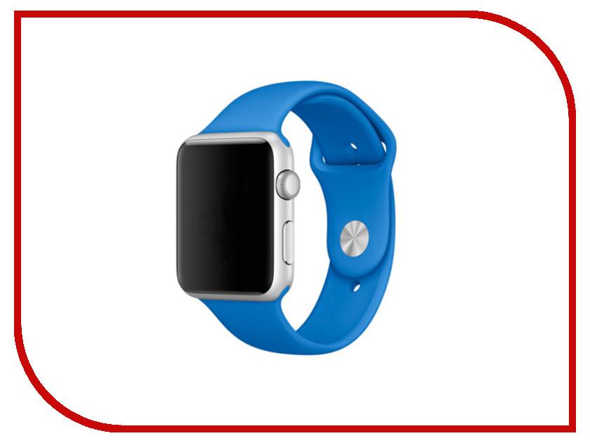 Аксессуар Браслет Apres APPLE Watch 42mm M/L Royal Blue аксессуар браслет apple watch 42mm apres s m pink sand