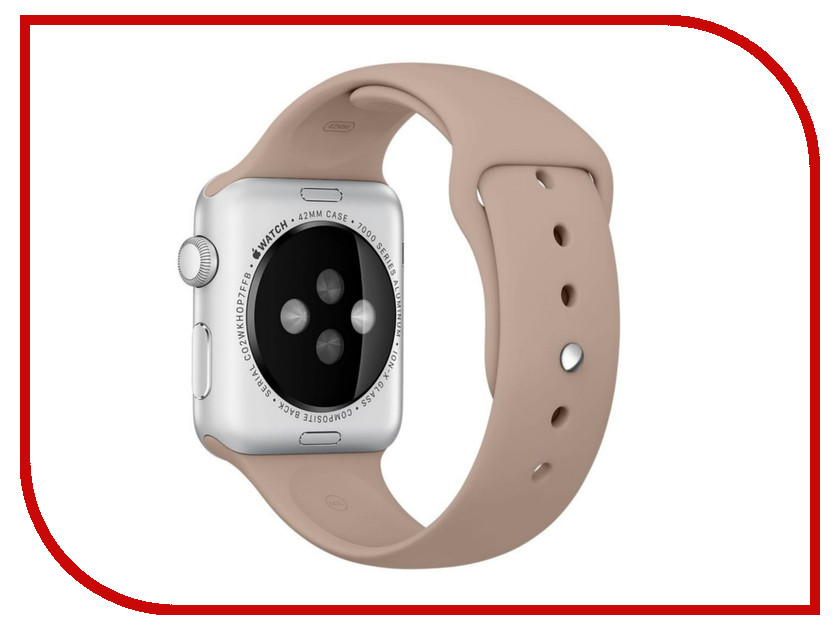 Аксессуар Браслет Apres APPLE Watch 42mm M/L Wallnut аксессуар браслет apple watch 42mm apres m l pink sand