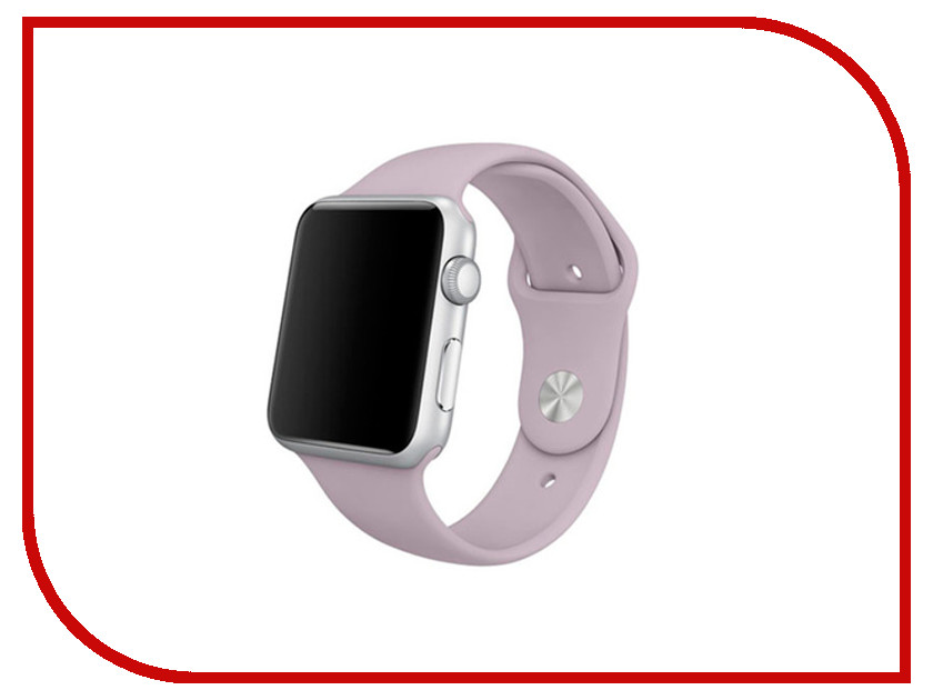 Аксессуар Браслет Apres APPLE Watch 42mm M/L Lavender аксессуар браслет apple watch 42mm apres m l pink sand