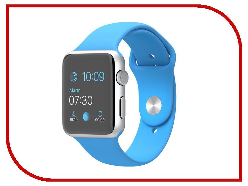 Аксессуар Браслет Apres APPLE Watch 42mm M/L Ocean Blue аксессуар браслет apple watch 42mm apres s m pink sand
