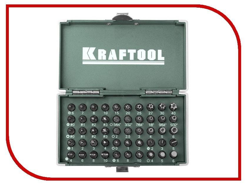 Бита Kraftool X-Drive 50шт 26065-H50 бита kraftool 9шт 26060 h10