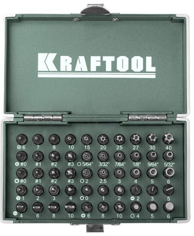 Набор бит Kraftool X-Drive 50шт 26065-H50