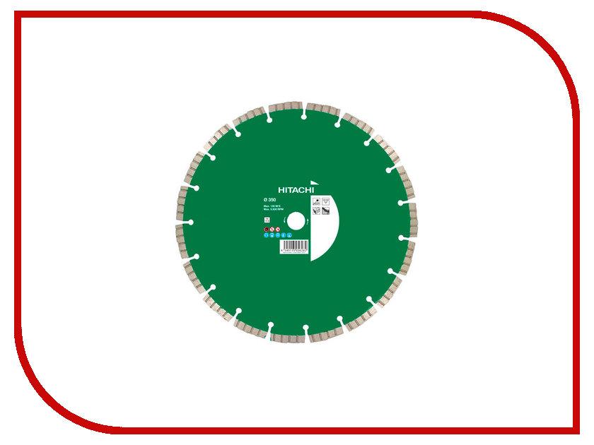 Диск Hitachi 773002 алмазный отрезной, универсальный 350x3.2x20/25.4mm диск отрезной алмазный турбо 115х22 2mm 20006 ottom 115x22 2mm