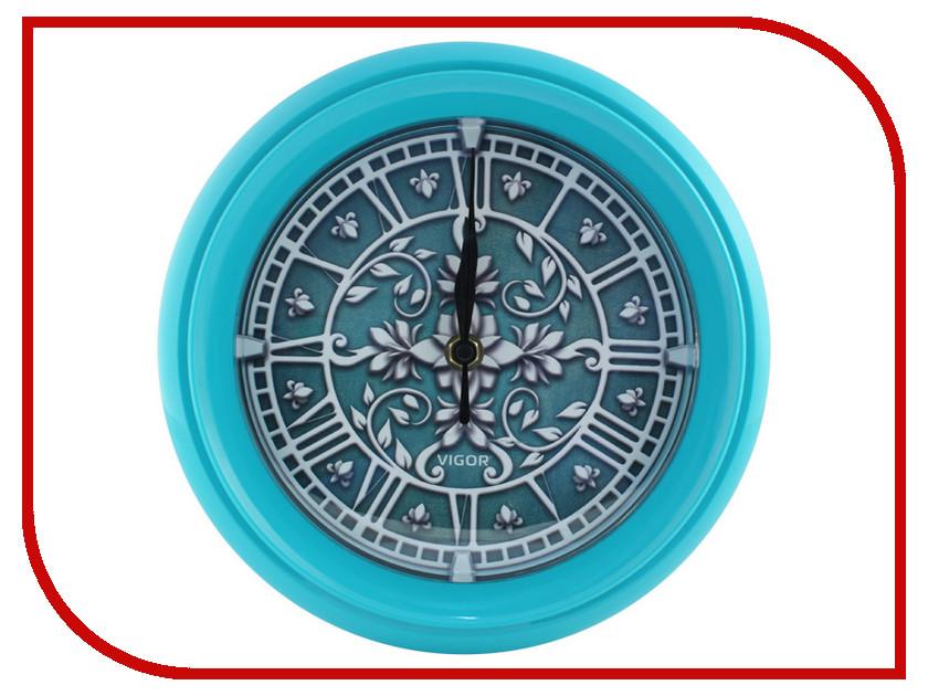 Часы Vigor Д-24 Лепнина Turquoise часы vigor д 29 элегия
