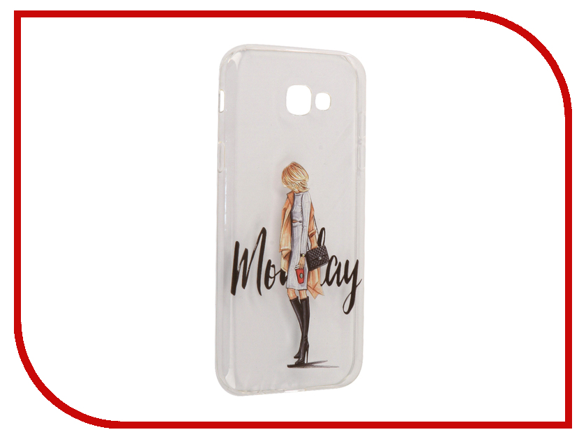 Аксессуар Чехол Samsung Galaxy A7 2017 With Love. Moscow Silicone Monday 5065 аксессуар чехол samsung galaxy j7 2017 with love moscow silicone palm 5210
