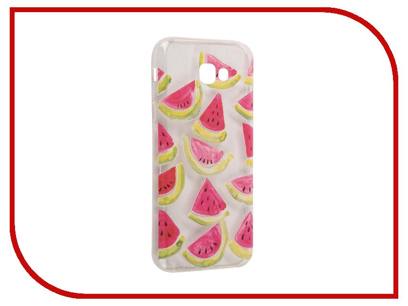 Аксессуар Чехол Samsung Galaxy A7 2017 With Love. Moscow Silicone Watermelon 3 5073 аксессуар чехол samsung galaxy a7 2017 with love moscow silicone russia 5090