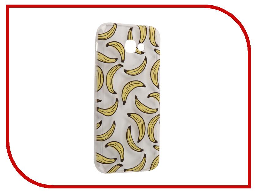 Аксессуар Чехол Samsung Galaxy A7 2017 With Love. Moscow Silicone Bananas 5074