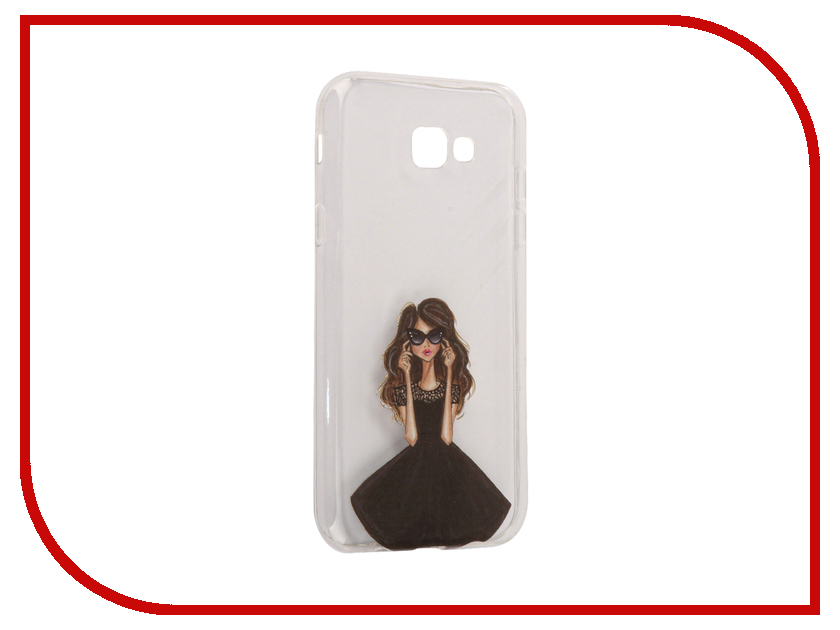 Аксессуар Чехол Samsung Galaxy A7 2017 With Love. Moscow Silicone Girl in a Dress 5081 аксессуар чехол samsung galaxy a7 2017 with love moscow silicone russia 5090