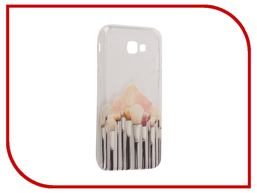 Аксессуар Чехол Samsung Galaxy A7 2017 With Love. Moscow Silicone Brushes 5086 аксессуар чехол samsung galaxy a7 2017 with love moscow silicone russia 5090