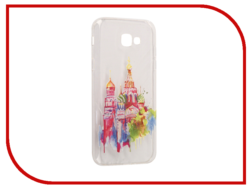 Аксессуар Чехол Samsung Galaxy A7 2017 With Love. Moscow Silicone Russia 5090 аксессуар чехол samsung galaxy a7 2017 with love moscow silicone pen 5099