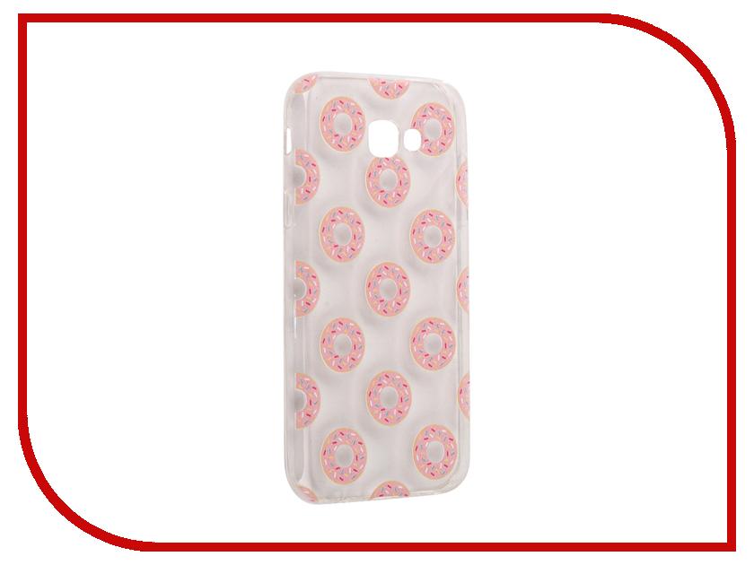 Аксессуар Чехол Samsung Galaxy A7 2017 With Love. Moscow Silicone Donuts 5101 аксессуар чехол samsung galaxy a7 2017 with love moscow silicone russia 5090