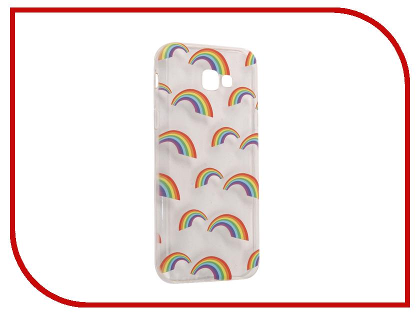 Аксессуар Чехол Samsung Galaxy A7 2017 With Love. Moscow Silicone Rainbow 5102
