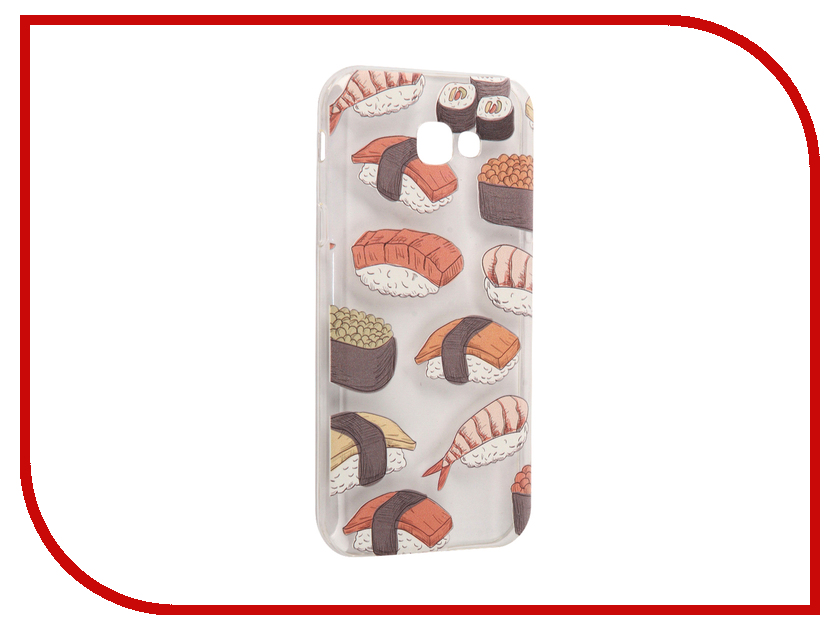 Аксессуар Чехол Samsung Galaxy A7 2017 With Love. Moscow Silicone Sushi 5105 stylish sushi tool vegetables combine with meat sushi machine