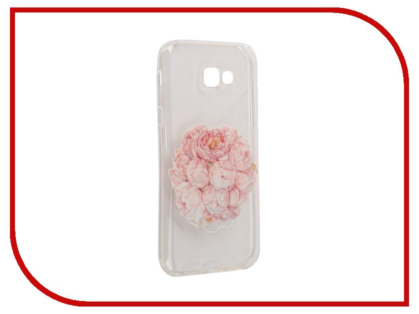 Аксессуар Чехол Samsung Galaxy A7 2017 With Love. Moscow Silicone Flower 5108