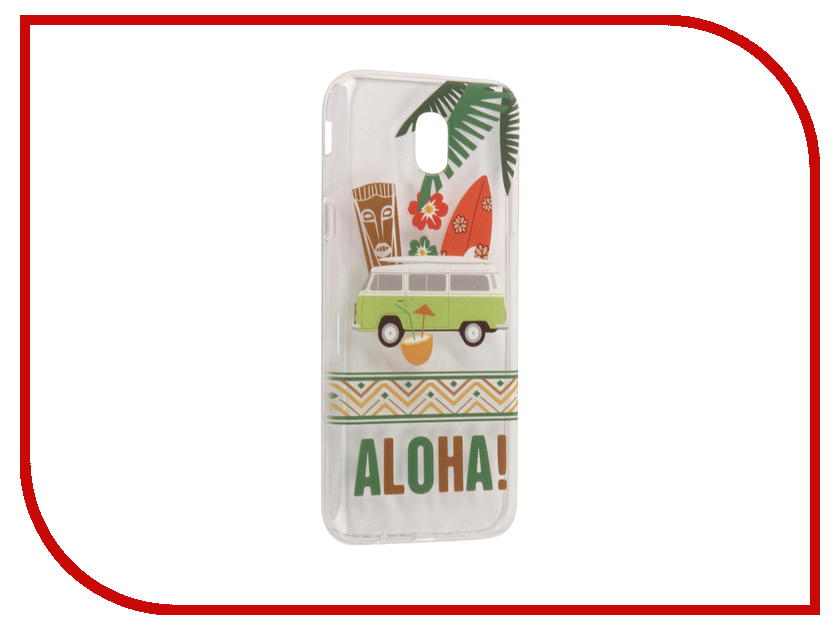 Аксессуар Чехол Samsung Galaxy J5 2017 With Love. Moscow Silicone Aloha 5112 аксессуар чехол samsung galaxy a7 2017 with love moscow silicone lips 5080
