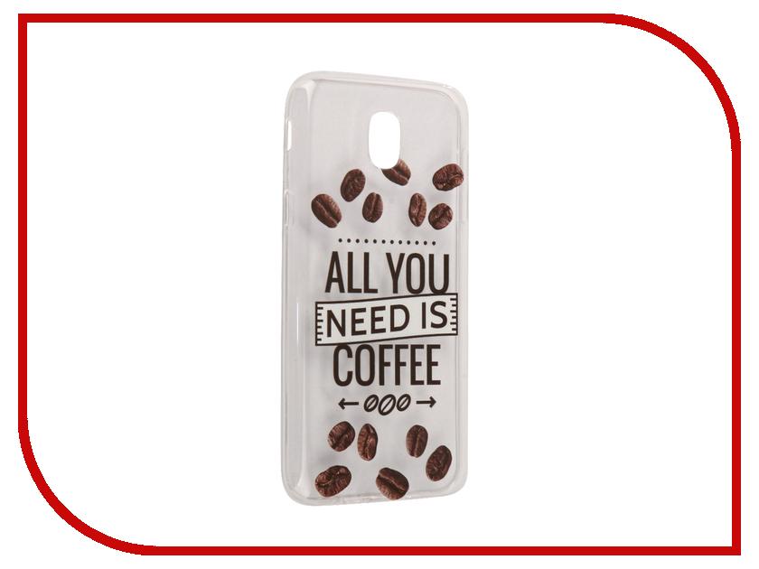 Аксессуар Чехол Samsung Galaxy J5 2017 With Love. Moscow Silicone Coffee 5113 аксессуар чехол samsung galaxy a7 2017 with love moscow silicone russia 5090