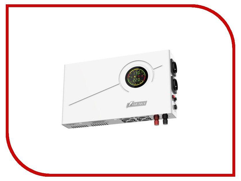 Источник бесперебойного питания Powerman Smart 1000 INV лампа светодиодная asd led свеча standard 5 0вт 160 260в е27 4000к