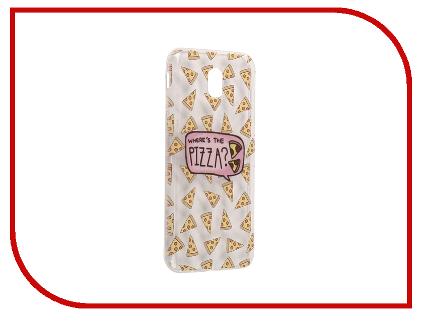 Аксессуар Чехол Samsung Galaxy J5 2017 With Love. Moscow Silicone Pizza 5124 аксессуар чехол samsung galaxy j5 2017 with love moscow silicone fruit 5162