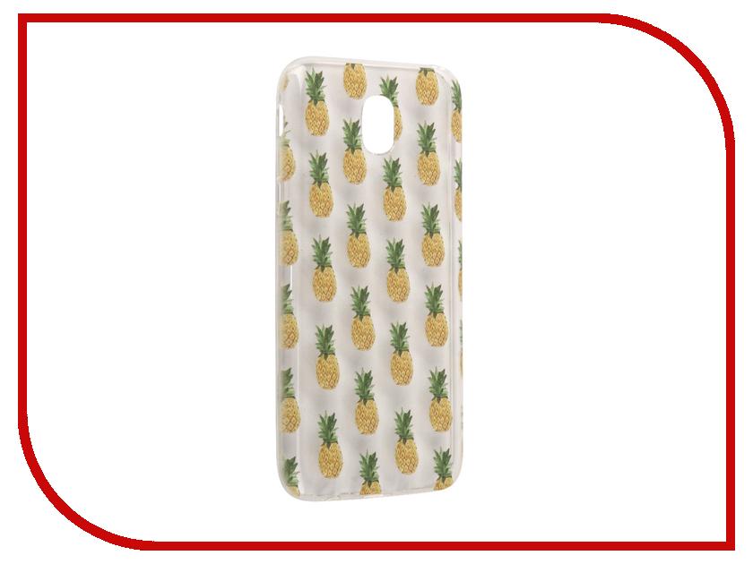 Аксессуар Чехол Samsung Galaxy J5 2017 With Love. Moscow Silicone Pineapples 5128