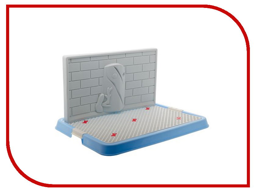 Туалет V.I.Pet для собак 67x52x29cm Blue P131-05