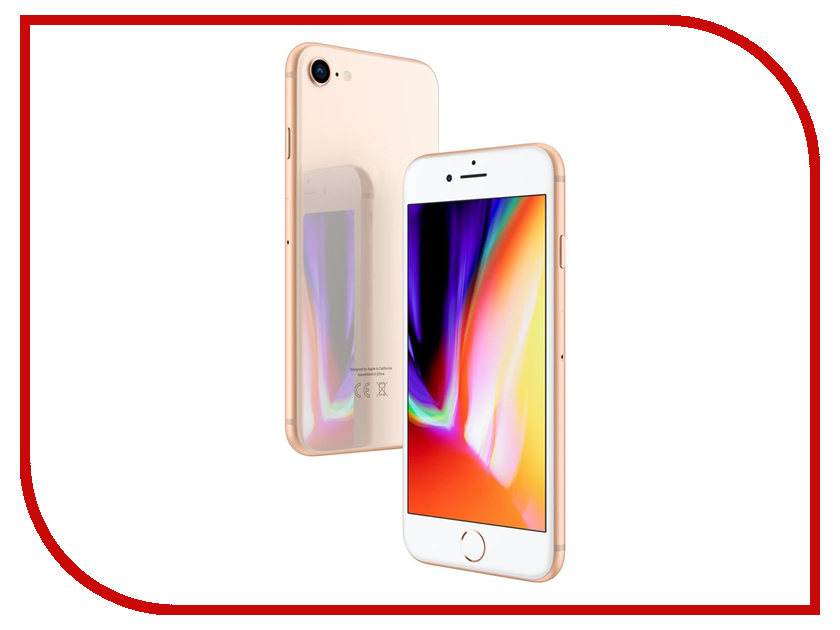Сотовый телефон APPLE iPhone 8 Plus - 64Gb Gold MQ8N2RU/A телефон apple iphone 6 16gb gold