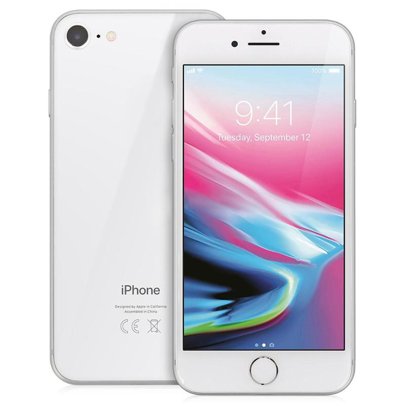 Сотовый телефон APPLE iPhone 8 - 64Gb Silver MQ6H2RU/A стоимость