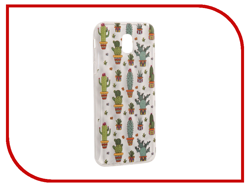 Аксессуар Чехол Samsung Galaxy J5 2017 With Love. Moscow Silicone Cactus 5140