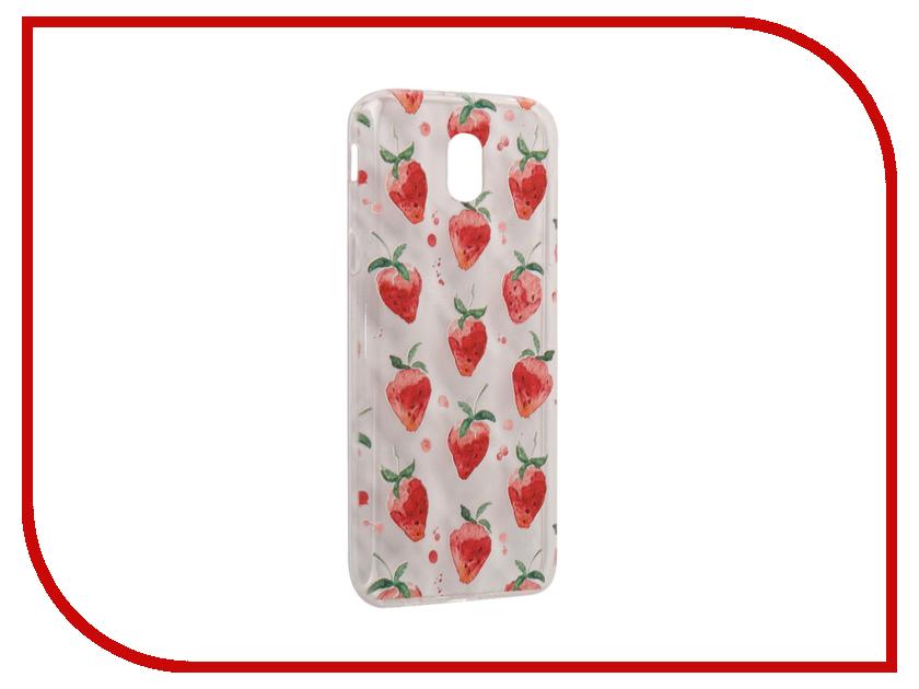 Аксессуар Чехол Samsung Galaxy J5 2017 With Love. Moscow Silicone Strawberry 5144 аксессуар чехол samsung galaxy a7 2017 with love moscow silicone russia 5090