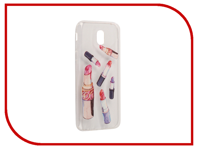 Аксессуар Чехол Samsung Galaxy J5 2017 With Love. Moscow Silicone Lipsticks 5156 аксессуар чехол samsung galaxy j5 2017 with love moscow silicone fruit 5162