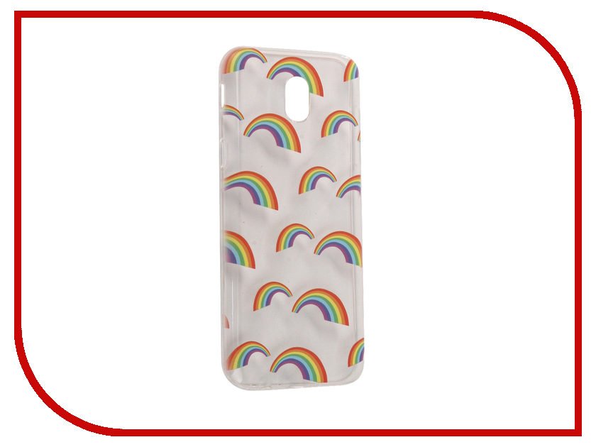 Аксессуар Чехол Samsung Galaxy J5 2017 With Love. Moscow Silicone Rainbow 5158 аксессуар чехол samsung galaxy j5 2017 with love moscow silicone fruit 5162