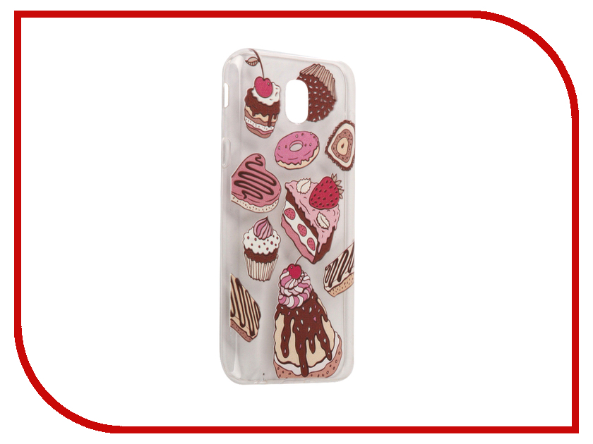 Аксессуар Чехол Samsung Galaxy J5 2017 With Love. Moscow Silicone Sweets 5159 аксессуар чехол samsung galaxy j5 2017 with love moscow silicone fruit 5162