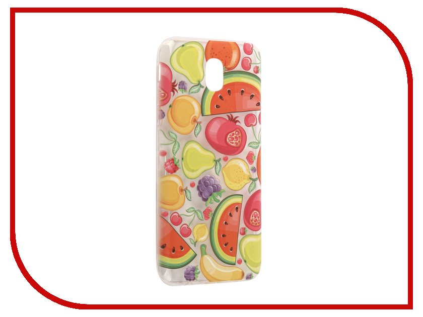 Аксессуар Чехол Samsung Galaxy J5 2017 With Love. Moscow Silicone Fruit 5162 аксессуар чехол samsung galaxy j5 2017 with love moscow silicone fruit 5162