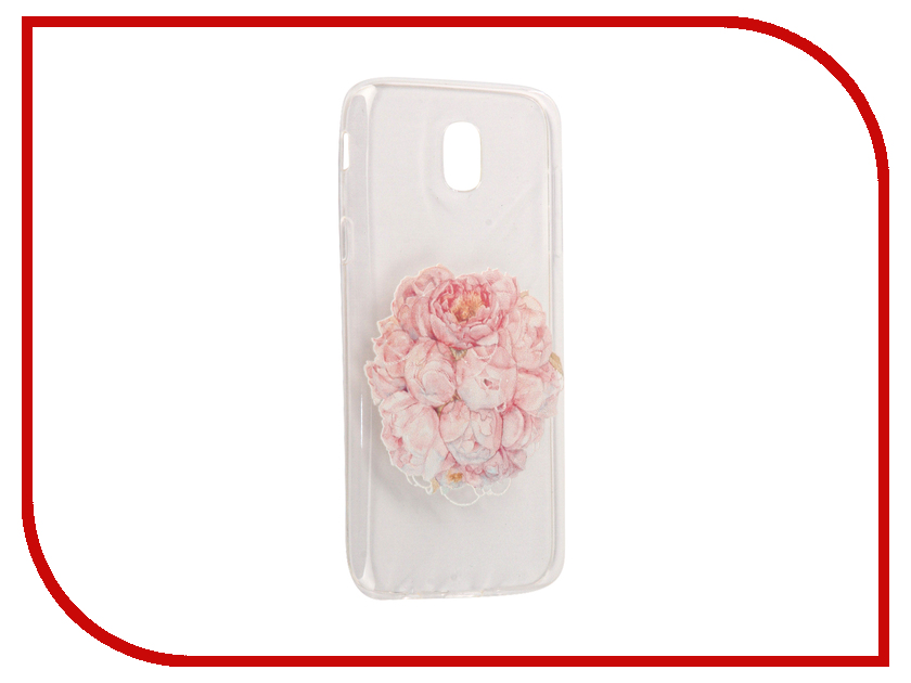 Аксессуар Чехол Samsung Galaxy J5 2017 With Love. Moscow Silicone Flower 5164 аксессуар чехол samsung galaxy j5 2017 with love moscow silicone fruit 5162
